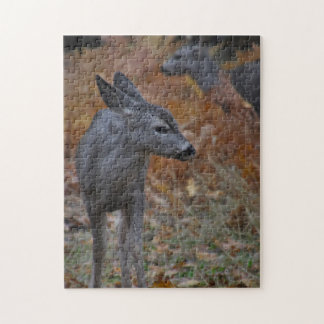 Yosemite Valley Fawn Jigsaw Puzzle