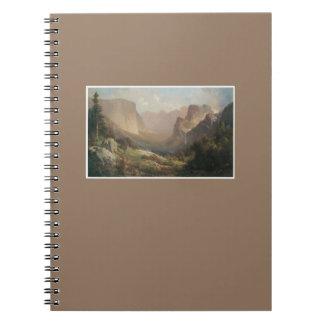 Yosemite Valley Fine Art Photo Notebook