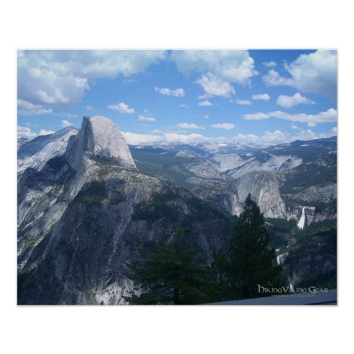 Yosemite Valley from Glacier Point Print