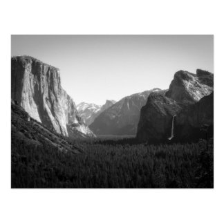 Yosemite Valley from Tunnel View Postcard