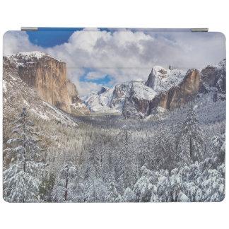 Yosemite Valley in Snow iPad Cover