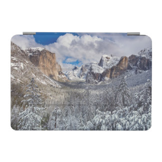Yosemite Valley in Snow iPad Mini Cover
