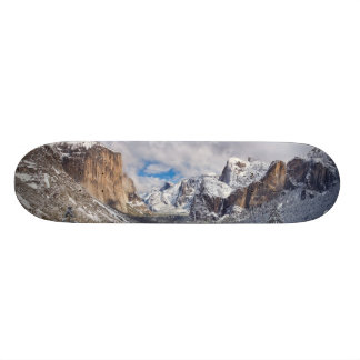 Yosemite Valley in Snow Skateboard Deck