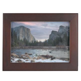 Yosemite Valley Keepsake Box
