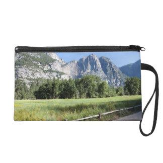 Yosemite Valley Meadow, El Capitan, Staycation Wristlet