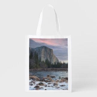 Yosemite Valley Reusable Grocery Bag
