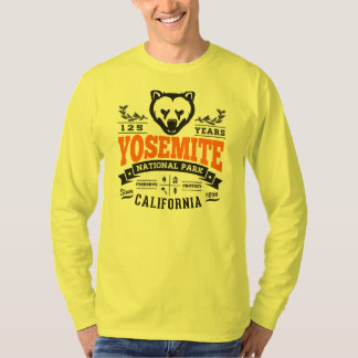 Yosemite Vintage Orange Tee Shirts