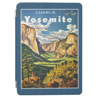 Yosemite Vintage Travel custom name device covers iPad Air Cover