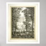 Yosemite Waterfalls, California    Print