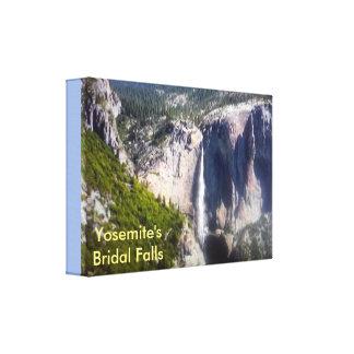 Yosemite's Bridal Falls Canvas Print