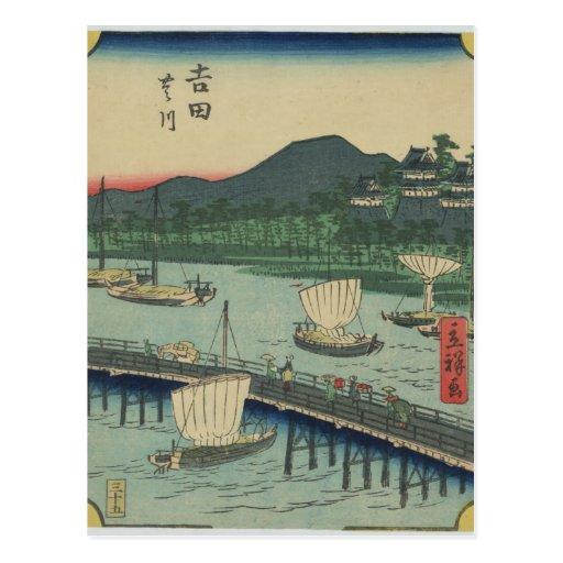 Yoshida c1863 post cards