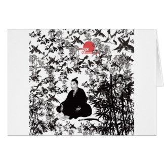 Yoshida Shoin and bird Cards