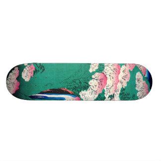 Yoshino Mountain Yamato Province Japan 1859 Custom Skateboard