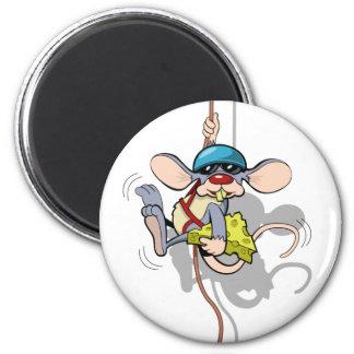 You Ain't Seen Me Climbing Rat 6 Cm Round Magnet