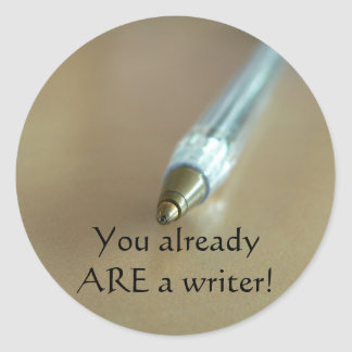 You Already ARE a Writer with Pen Stickers