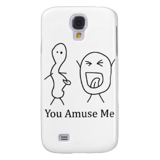 You Amuse Me logo Galaxy S4 Case