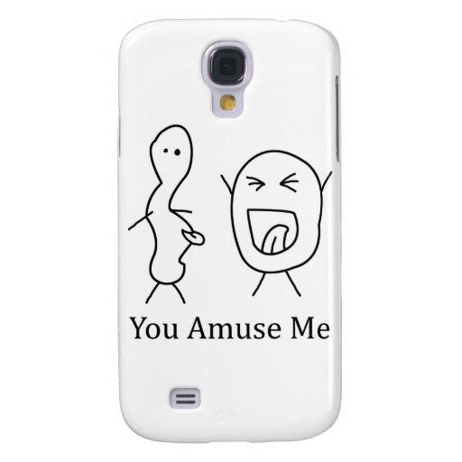 You Amuse Me logo Samsung Galaxy S4 Case