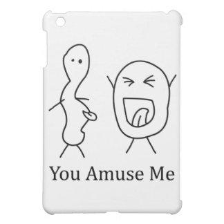 You Amuse Me logo iPad Mini Cases