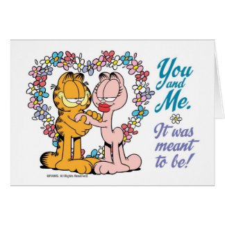 You and Me, It was meant to be! Note Card