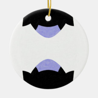You and Me, Modern and Contemporary Art Christmas Ornaments