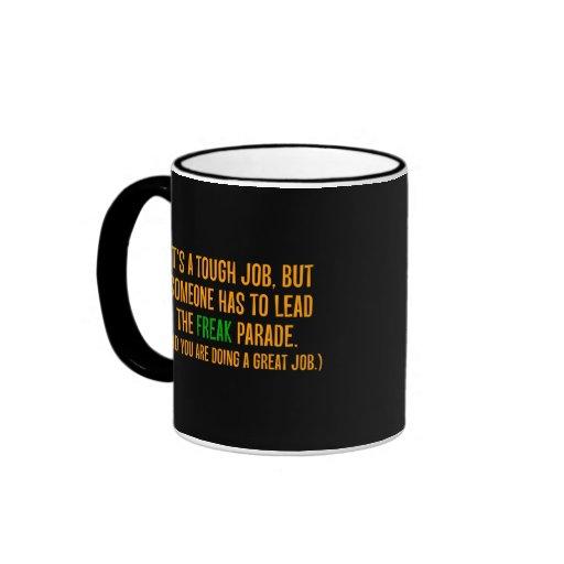 You are a excellent leader (2) ringer mug