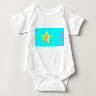 You are a golden star! baby bodysuit