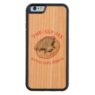 You Are All Otter Your Minds - Animal Pun Cherry iPhone 6 Bumper Case