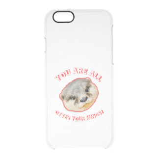 You Are All Otter Your Minds - Animal Pun iPhone 6 Plus Case