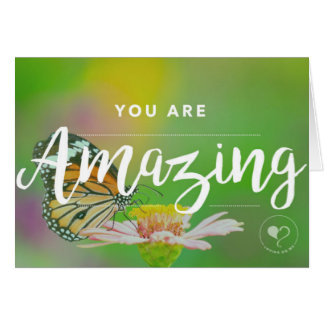 You Are Amazing Notecard w. Envelope