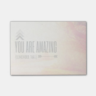 You Are Amazing Post-it Notes