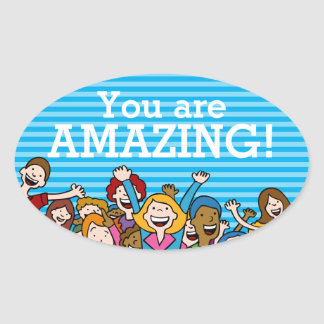 You are amazing teamwork sticker