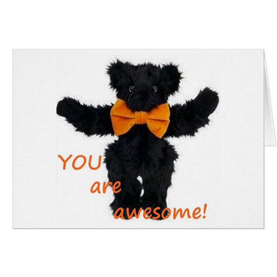 YOU ARE AWESOME-LOVE AT HALLOWEEN / EVERY DAY CARD