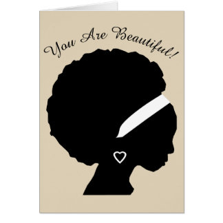You Are Beautiful Encouragement Card