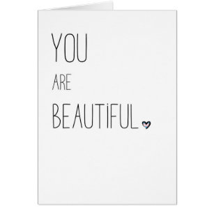 You Are Beautiful - LGBT - Transgender Flag Heart