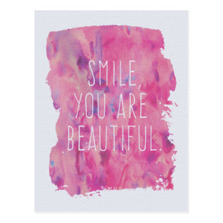 You Are Beautiful Postcard