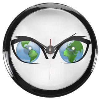 You Are Being Watched Aquavista Clocks