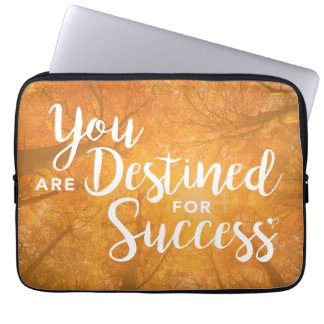 You are Destined for Success Artwork Laptop Cover Computer Sleeves