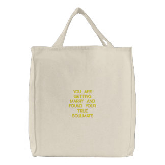 You are getting Marry Embroidered Tote Bags