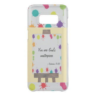 """""""You are God's Masterpiece"""" painted easel colour Uncommon Samsung Galaxy S8 Case"""