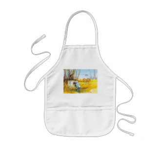 You are here kids apron