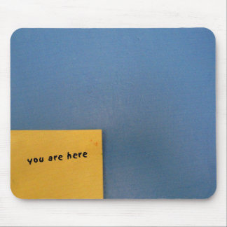 You Are Here: Post-It note mousemat
