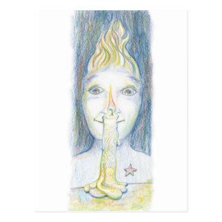 You are Illuminated Postcard
