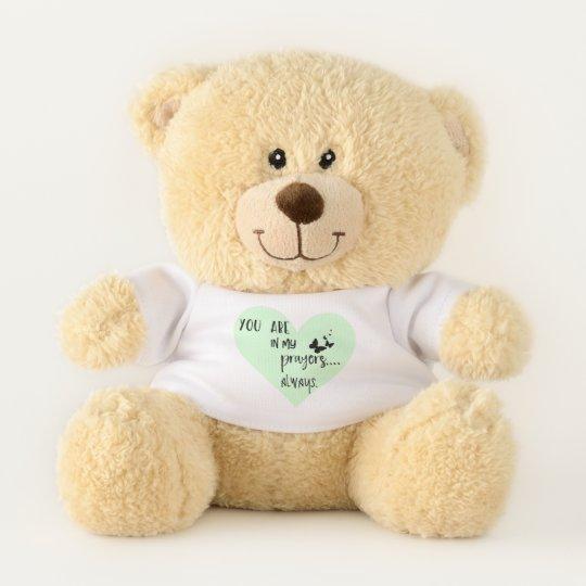 You Are In My Prayers Teddy Bear Zazzle Co Uk
