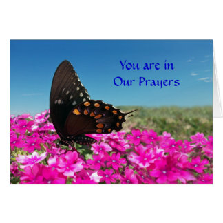You are in Our Prayers Greeting Card