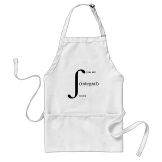 You Are Integral To Me Aprons