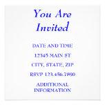 YOU ARE INVITED CUSTOM INVITE