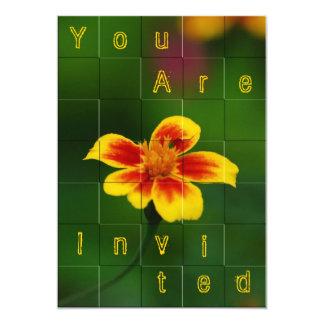 You are invited 13 cm x 18 cm invitation card
