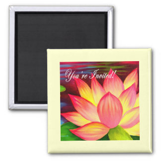 You Are Invited Invitation Cards More - Multi Fridge Magnet