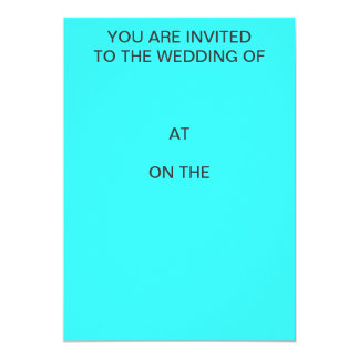 You are invited to the wedding of Invitation