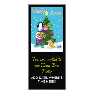 You are invited xmas eve party custom invites